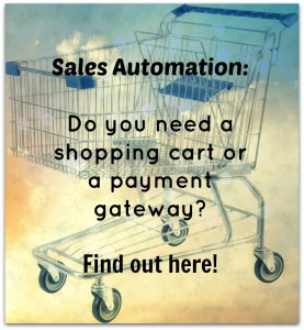 Automate Sales with 1Shopping Cart and Infusionsoft