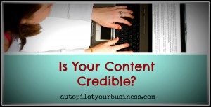 Content Marketing: Build Credibility With Your Blog