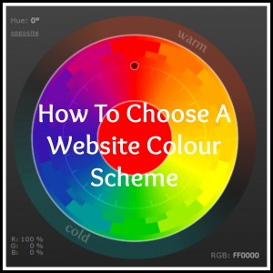 How to Choose a Website Colour Scheme