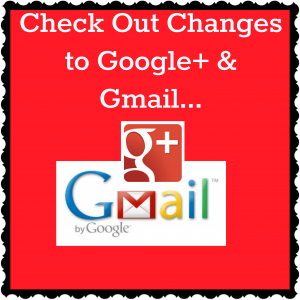 Google+ Email Changes