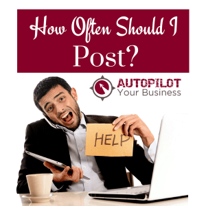 How often should I post on my blog