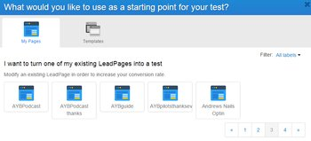 Leadpages Split Testing