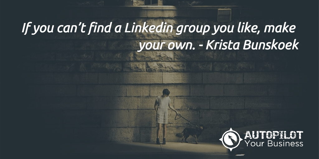Krista Bunskoek and autopilot your business