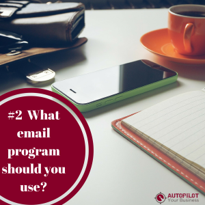 What email program should you use?