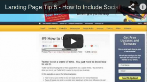 How to include social share buttons