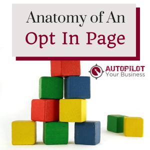 7 Key Parts To The Anatomy of An Opt In Page